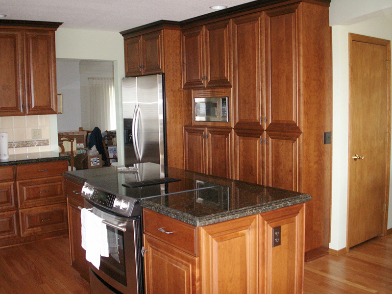 Custom Cabinets In Portland Oregon Rh Veentjerwoodworking Com Cabinet Designs Granite Countertops